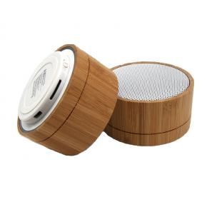 Wood wireless bluetooth speakers